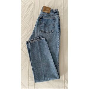 VINTAGE Levi's Super High Rise, Medium Wash